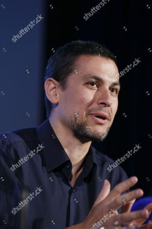 Spanish Film Maker Rodrigo Cortes Addresses a Press Conference For the Presentation of His Short Film '1 58' at the 47th Sitges Film Festival in Sitges Outside Barcelona North-eastern Spain 03 October 2014 Sitges Film Festival Runs From 03 to 12 October 2014 Spain Sitges