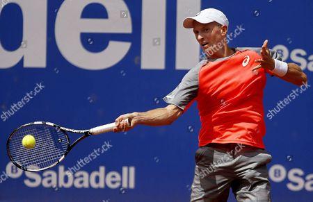 Editorial picture of Spain Tennis Conde De Godo - Apr 2014