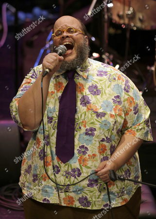 Stock Image of Brazilian Singer and Composer Ed Motta Performs on Stage at Womex Music Festival in Santiago De Compostela Northern Spain 23 October 2014 Spain Santiago De Compostela