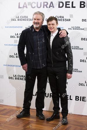 Gore Verbinski and Dane Dehaan