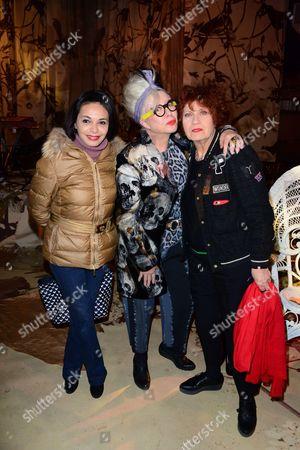 Saida Jawad, Orlan, Andrea Ferreol