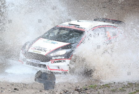 Jari Ketomaa of Finland Drives His Ford Fiesta R5 Wrc During the Second Stage of the Rally Argentina 2014 As Part of the World Rally Championship (wrc) in Agua De Oro Argentina 09 May 2014 Argentina Agua De Oro