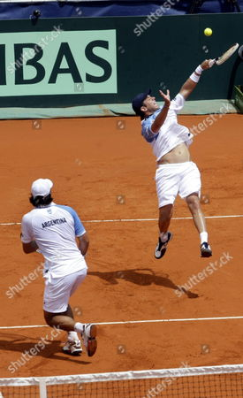 Editorial image of Argentina Tennis Davis Cup - Feb 2014