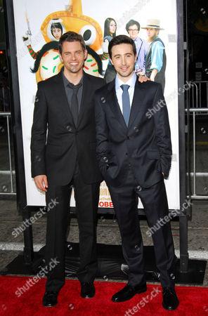 Josh Zuckerman and James Marsden