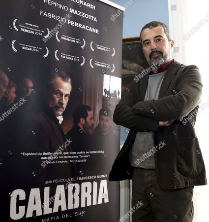 Italian Filmmaker Francesco Munzi Poses For the Photographer During a N Interview with Spanish Press Agency Agencia Efe in Madrid Spain 24 March 2015 Munzi Has Talked About His Film 'Calabria' Which Will Premier in the Spanish Cinemas the Upcoming 27 March Spain Madrid
