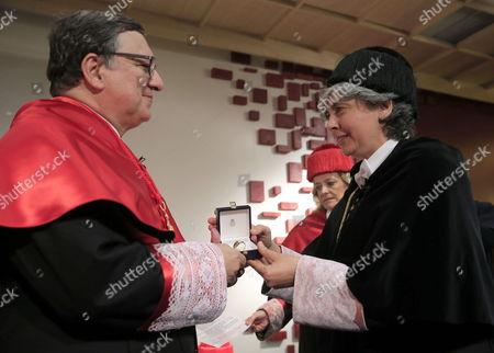 Editorial picture of Spain Durao Barroso - Apr 2015