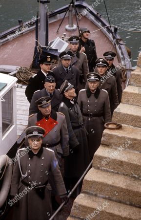 'Enemy at the Door' -  'The Raid' -   Michael Sheard, Simon Cadell, Alfred Burke and David Waller