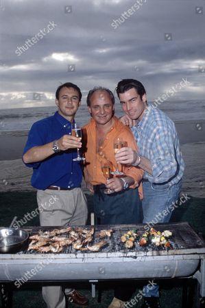 'Carlton Food Network'  - 'Three  RESTAURATEUR TV CELEBRITY  RESTAURATEUR TV CELEBRITY CHEF  s in the Cape' - Alan Coxon, Aldo Zilli and Ross Burden
