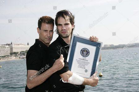 Uri Geller and David Merlini