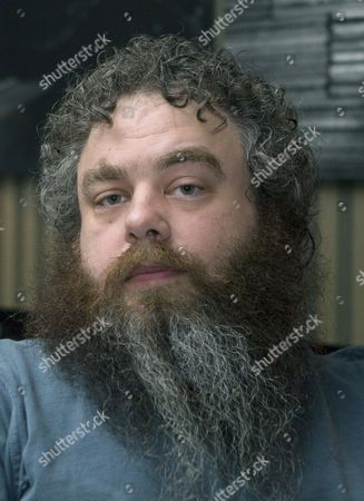 Stock Photo of Us Writer Patrick Rothfuss Poses For the Photographer During the Presentation of His Fantasy Trilogy 'The Kingkiller Chronicle' in Barcelona Spain 07 November 2013 Spain Barcelona