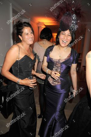 Tracey Emin and Patti Wong