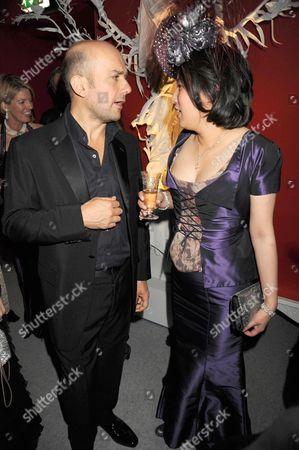 Marc Quinn and Patti Wong