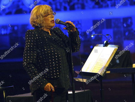 British Singer Marianne Faithfull Performs on Stage During Her Concert to Present Her Last Album 'Give My Love to London' in the 50 Anniversary World Tour Held at Palau De La Musica Pavilion in Barcelona Spain 09 December 2014 Spain Barcelona