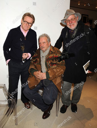 John Swannell, David Bailey and Barry Lategan