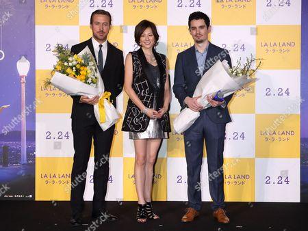 Ryan Gosling, Damien Chazelle, Ryoko Yonekura