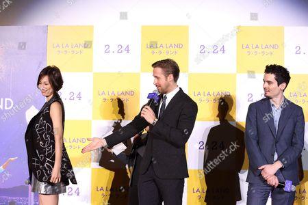 Ryoko Yonekura, Ryan Gosling, Damien Chazelle