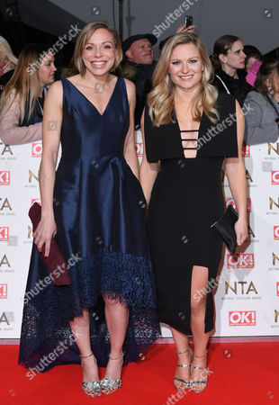 Kate Richardson-Walsh and Hollie Webb
