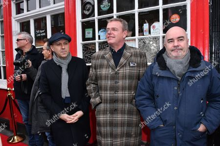 "Stock Picture of Mike Barson, Dan Woodgate, Mark Bedford, Graham "" Suggs "" McPherson, Chris Foreman of Madness"