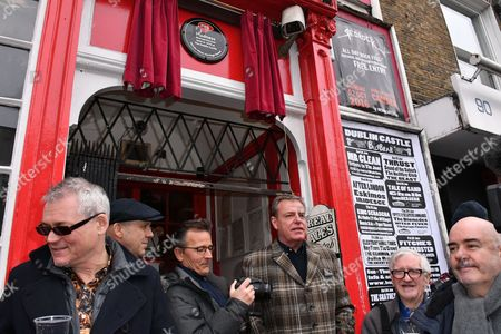 Editorial photo of Madness present the PRS Music Heritage Award plaque to the Dublin Castle pub, London, UK - 26 Jan 2017