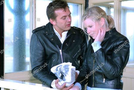 'Heartbeat' - Series 17 - 'Love Story' -  Jamie Finn (Nolan Hemmings) and Rosie Cartwright (Vanessa Hehir)