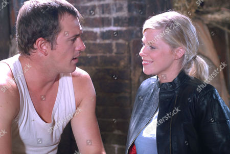 'Heartbeat' - Series 17 - 'Love Story' -  Mick (Blair McDonough) and Rosie Cartwright (Vanessa Hehir)