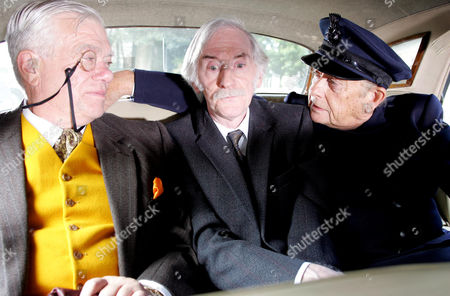 'Heartbeat'  - Series 17 - Episode: 8 - 'Only Make Believe' - Oscar Blaketon (Derek Fowlds), Alf Ventress [William Simons] and Bernie Scripps (Peter Benson)