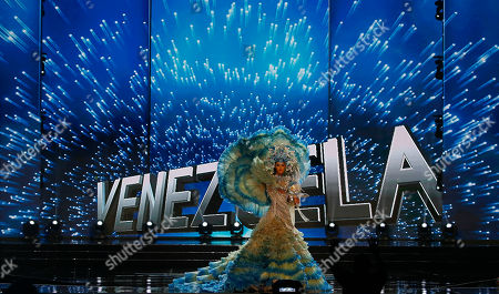Miss Universe contestant Mariam Habach of Venezuela parades in costume during the preliminary competition of the Miss Universe beauty pageant at the Mall of Asia Arena in suburban Pasay city south of Manila, Philippines. A total of 86 contestants are vying for the title in the grand coronation on Jan. 30 to succeed Pia Wurtzbach of the Philippines