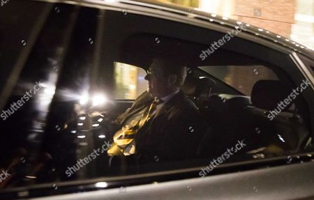 Stock Photo of Dutch Minister of Safety and Justice Ard van der Steur  leaves after the debate in the parliament, The Hague, The Netherlands, 26 January 2017. The debate was about the so-called Teeven deal - a deal then prosecutor Fred Teeven made with drug criminal Cees H. in 2000 that basically meant that H. got nearly 5 million guilders in return for paying a 750 thousand guilder fine. On 23 January, journalist Bas Haan revealed a hitherto secret email which shows that Van der Steur as parliamentarian advised that important information be withheld from the Tweede Kamer, the lower house of Dutch parliament.