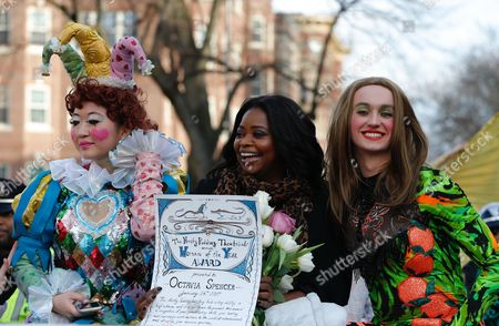 Editorial picture of Octavia Spencer named Harvard's 2017 Hasty Pudding Theatricals Woman of the Year, Cambridge, USA - 26 Jan 2017