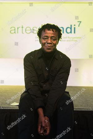 Artes Mundi winner John Akomfrah.