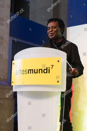 Stock Picture of Artes Mundi winner John Akomfrah.