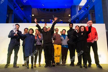 Editorial picture of Artes Mundi Biennial Winners, Cardiff, UK - 26 Jan 2017