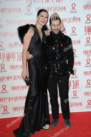 Marie-Agnes Gillot and Alexis Mabille
