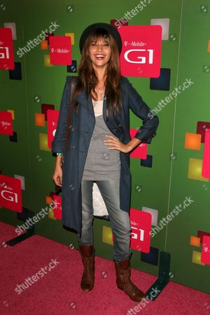 Editorial picture of T-Mobile G1 launch party in Hollywood, Los Angeles, America - 17 Oct 2008