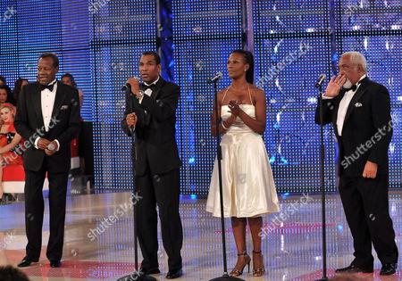 Editorial image of 'I Migliori Anni' TV Programme, Rome, Italy - 17 Oct 2008
