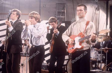 The Yardbirds - Paul Samwell-Smith, Keith Relf, Chris Dreja and Eric Clapton