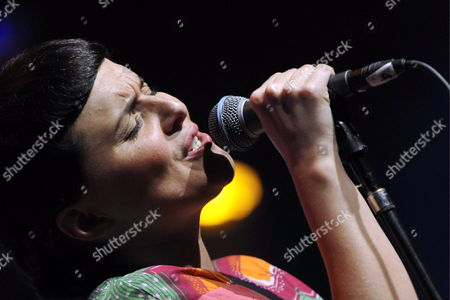 Stock Image of Icelandic Singer Emiliana Torrini Performs on Stage at the Avo Session in Basel Switzerland 14 November 2009 Switzerland Schweiz Suisse Basel