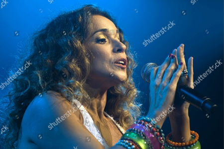 Brazilian Singer Daniela Mercury Performs Onstage at the Avo Session in Basel Switzerland 10 November 2011 the Music Festival Runs Until 13 November Switzerland Schweiz Suisse Basel Bale Basilea Basle