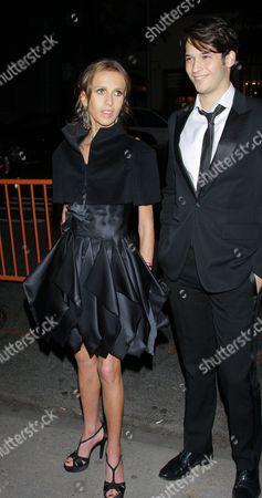Allegra Versace Beck and guest