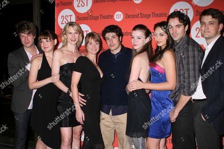 Stock Photo of Peter Scanavino, Laura-Leigh, Stephanie March, Michelle Federer, Jason Biggs, Betty Gilpin, Paloma Guzman, Rhys Coiro, Dan Colman