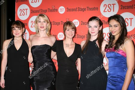 Stock Picture of Laura-Leigh, Stephanie March, Michelle Federer, Betty Gilpin, Paloma Guzman