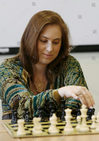 World Class Chess Player Judit Polgar of Hungary Concentrates on the Opening Day of the International Chess Tournament in Biel Switzerland 21 July 2007 Switzerland Schweiz Suisse Biel