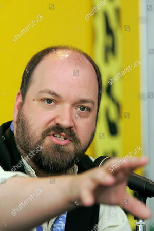 British Director Dave Mckean Talks About His Movie 'Mirrormask' During a Press Conference at the 58th International Film Festival Locarno Saturday August 6 2005 in Locarno Switzerland Switzerland Schweiz Suisse Locarno