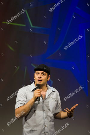 German Comedian Kaya Yanar Performs During the Comedy Night of the Global Entertainment Television Festival 'Rose D'or' in Lucerne Switzerland 09 May 2012 Switzerland Schweiz Suisse Lucerne
