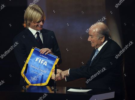 Editorial picture of Switzerland Fifa Soccer Ballon D'or - Jan 2012