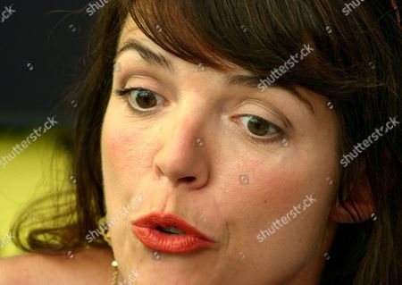 Danish Actress Lotte Andersen Talks About Her Role in Danish Director Hella Joof's Film 'Oh Happy Day' During a Press Conference at the 57th International Film Festival Locarno Sunday 08 August 2004 in Locarno Switzerland Switzerland Schweiz Suisse Locarno
