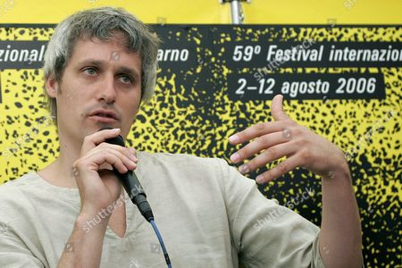 Spanish Film Director Marc Recha Speaks During a Press Conference to Present His Movie 'Dies D'agost' Which Participates in the International Competition at the 59th International Film Festival Locarno Saturday 05 August 2006 in Locarno Switzerland Switzerland Schweiz Suisse Locarno