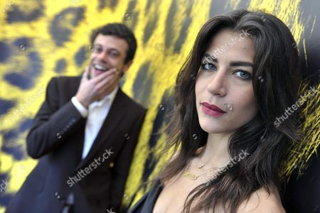 Iranian Director Babak Jalali (l) and Iranian Actress Karima Adebibe (r) Pose During a Photocall Prior to the Presentation of Their Movie 'Frontier Blues' at the 62nd Locarno International Film Festival 11 August 2009 in Locarno Switzerland the Festival Runs Until 15 August Switzerland Schweiz Suisse Locarno