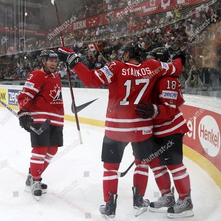 Editorial picture of Switzerland Ice Hockey World Championship - May 2009
