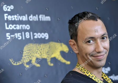 South African Director Oliver Hermanus Attends the Photocall of His Movie 'Shirley Adams' During the 62nd Locarno International Film Festival in Locarno Switzerland 06 August 2009 the Festival is Scheduled to Run Until 15 August Switzerland Schweiz Suisse Locarno
